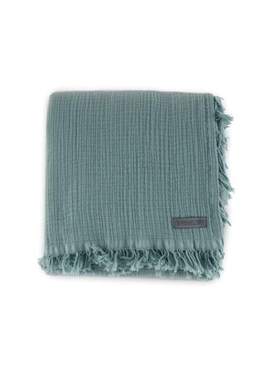Penelope Soflin Müslin Yatak Örtüsü 160x240 Yeşil